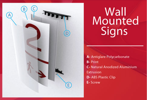 Wall Mounted Signs