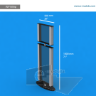 """VLP10SAp - 20"""" width by 71"""" height"""