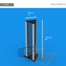 """TR11p - 12"""" width by 60"""" height"""