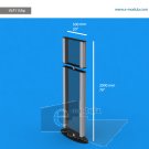 """VLP11SAp - 20"""" width by 79"""" height"""