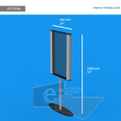 """VLP12SAp - 24"""" width by 79"""" height"""