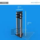 """TR15SAp - 12"""" width by 68"""" height"""