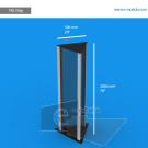 """TR21SAp - 20"""" width by 78"""" height"""