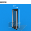 """TR22SAp - 20"""" width by 82"""" height"""