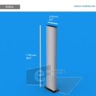 "DSW2p - 8.3"" width by 68.5"" height"