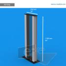 "VLF2SAp - 10"" width by 44"" height"