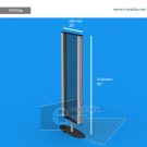 """VLP2SAp - 20"""" width by 85"""" height"""