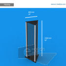 """TR30SAp - 24"""" width by 92"""" height"""