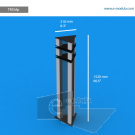 "TR5SAp -  8.3"" width by 60.5"" height"