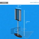 """VLP9SAp - 16"""" width by 67"""" height"""