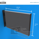 """WBD21p - 11.75"""" width by 8.3"""" heigh"""
