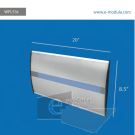 """WFL53c-8.5"""" high by  width 20"""""""