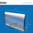 "WFVLL10c-16"" high by 30"" width"