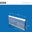 "WFVLL13c-20"" high by 48"" width"