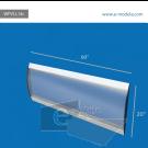"WFVLL14c-20"" high by 60"" width"